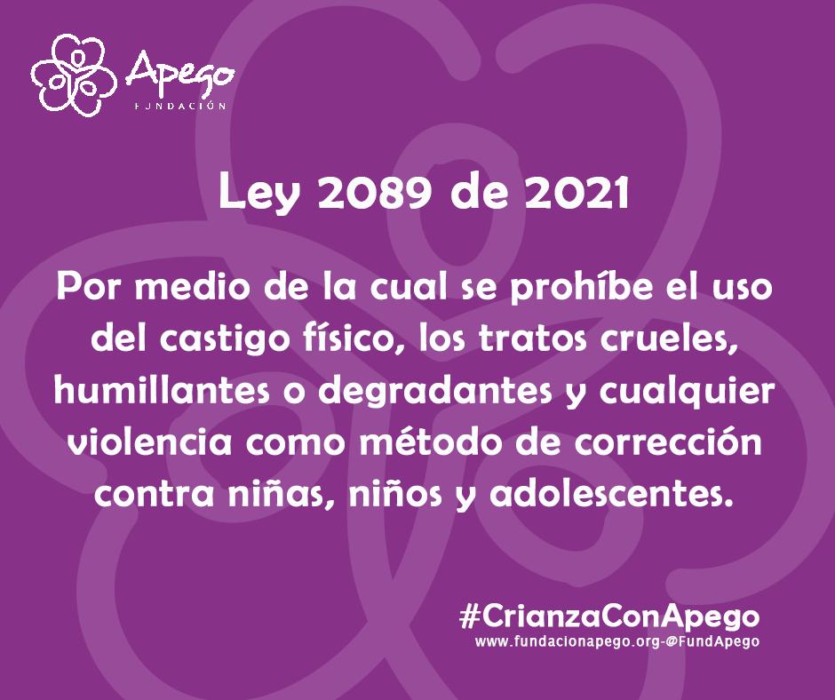 Imagen alusiva a Conoce la ley 2089 de 2021