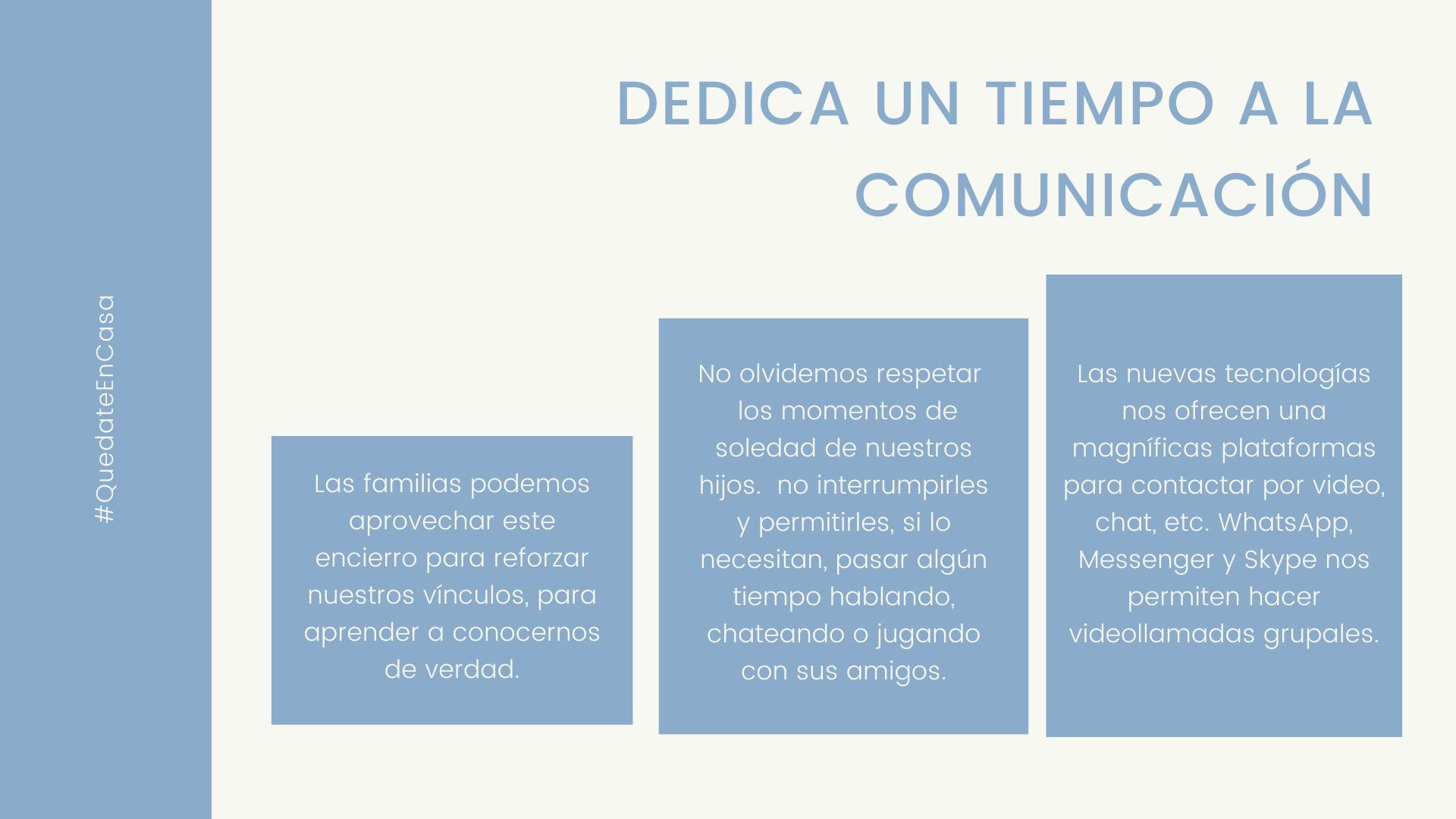 Imagen alusiva a 5. Trabajemos en la comunicación de la familia.