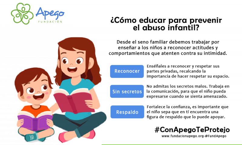 Imagen alusiva a Educar para prevenir el abuso infantil en los niños