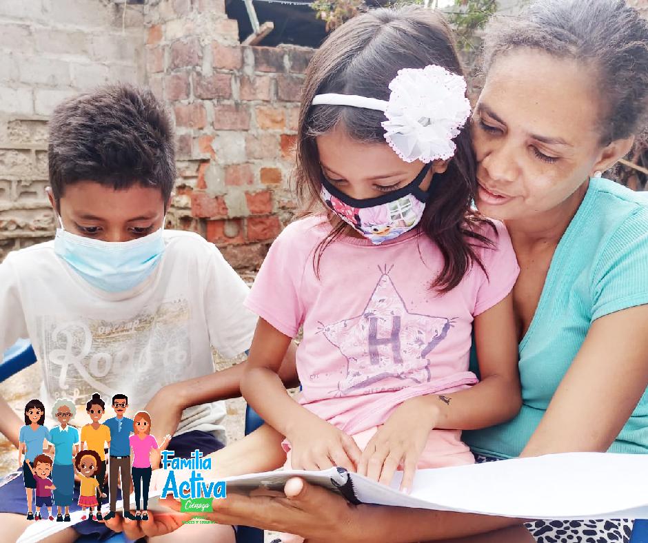 """Imagen alusiva a En Ciénaga, Magdalena, los niños """"tienen voz"""" durante la pandemia."""