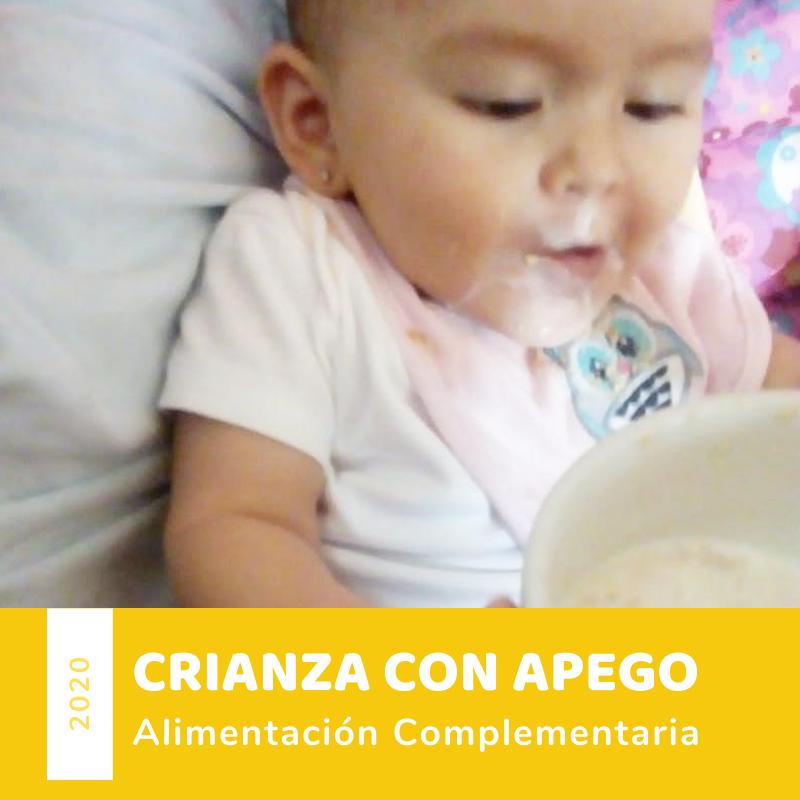 Imagen alusiva a Te enseñamos a iniciar la alimentación complementaria del bebé